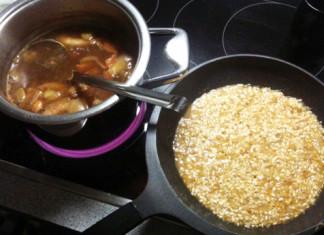 Vaření italského rissota