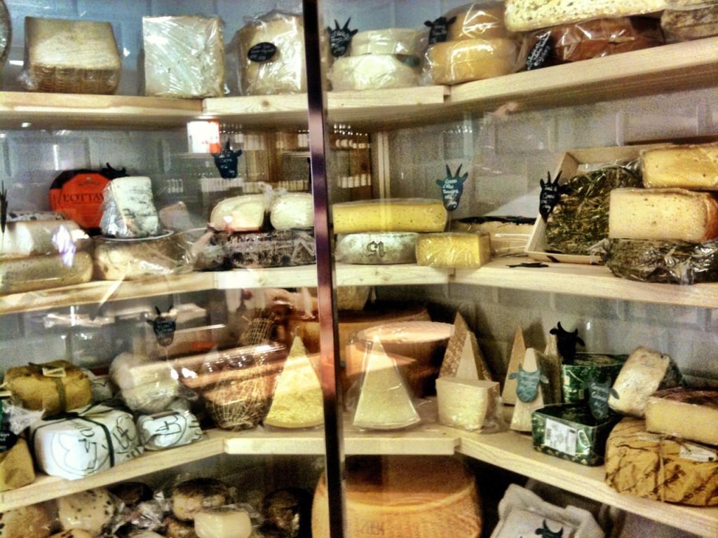 Oddělení sýrů