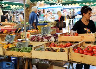 Trhy v Aix