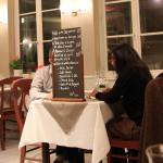 Denní nabídka jídel v La Cuiller à Pot