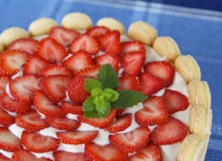 Charlotte Chantilly aux fraises