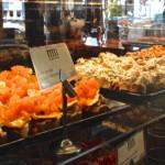 San Miquel - obložené chlebíčky