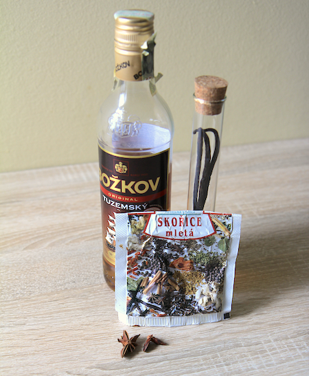 Povidla rum skořice vanilka