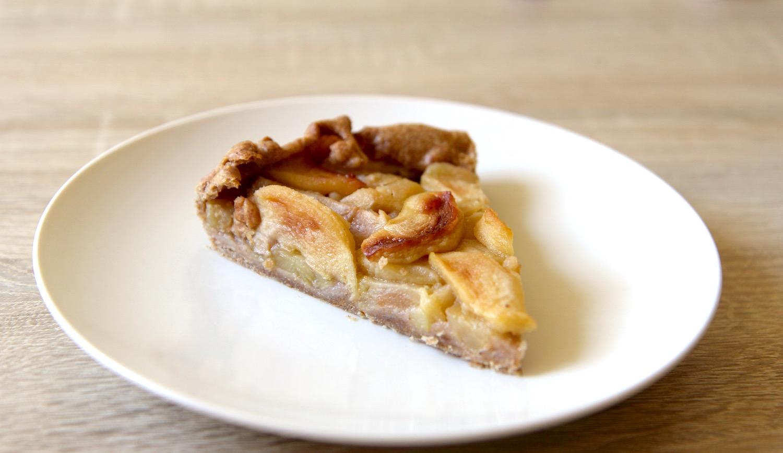 Jablkový francouzský koláč
