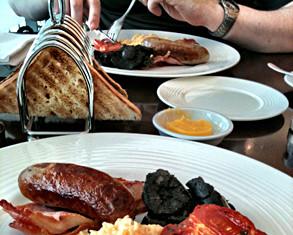 Anglická snídaně od Gordona