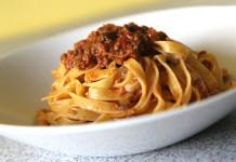 bolognese omáčka na těstoviny