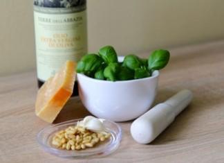 Pesto ingredience